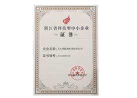浙江省科技型中小企业